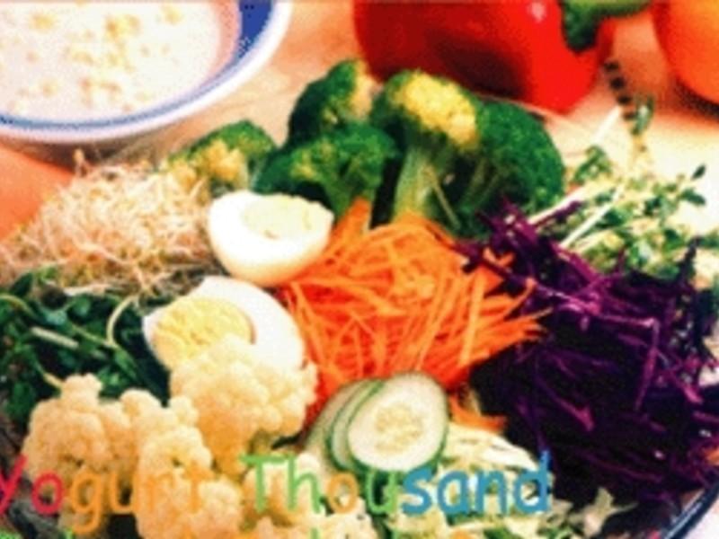 優格千島醬