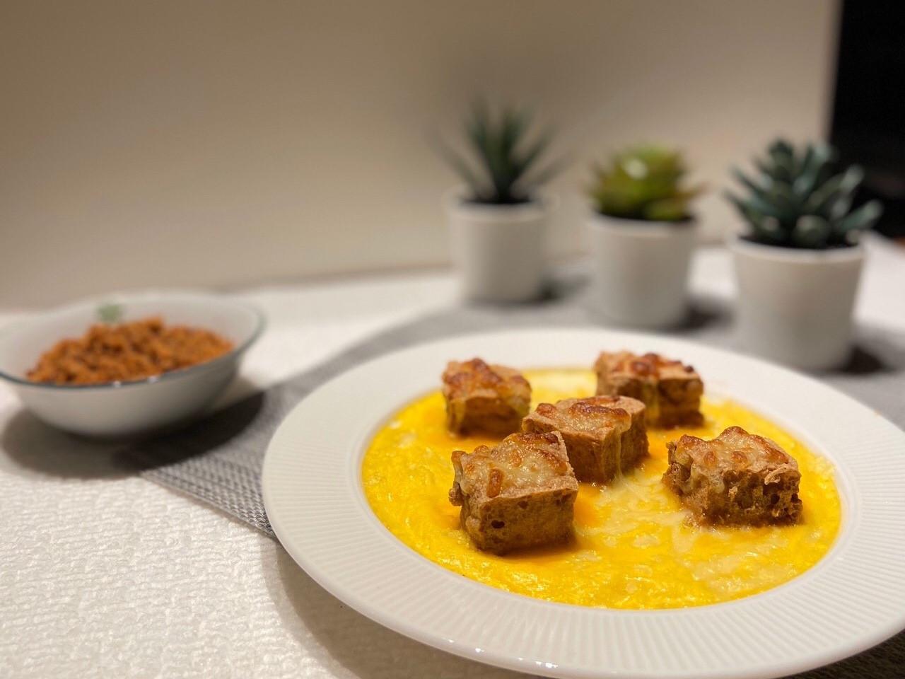 【低成本懶人料理】黃金流沙起司蛋臭豆腐