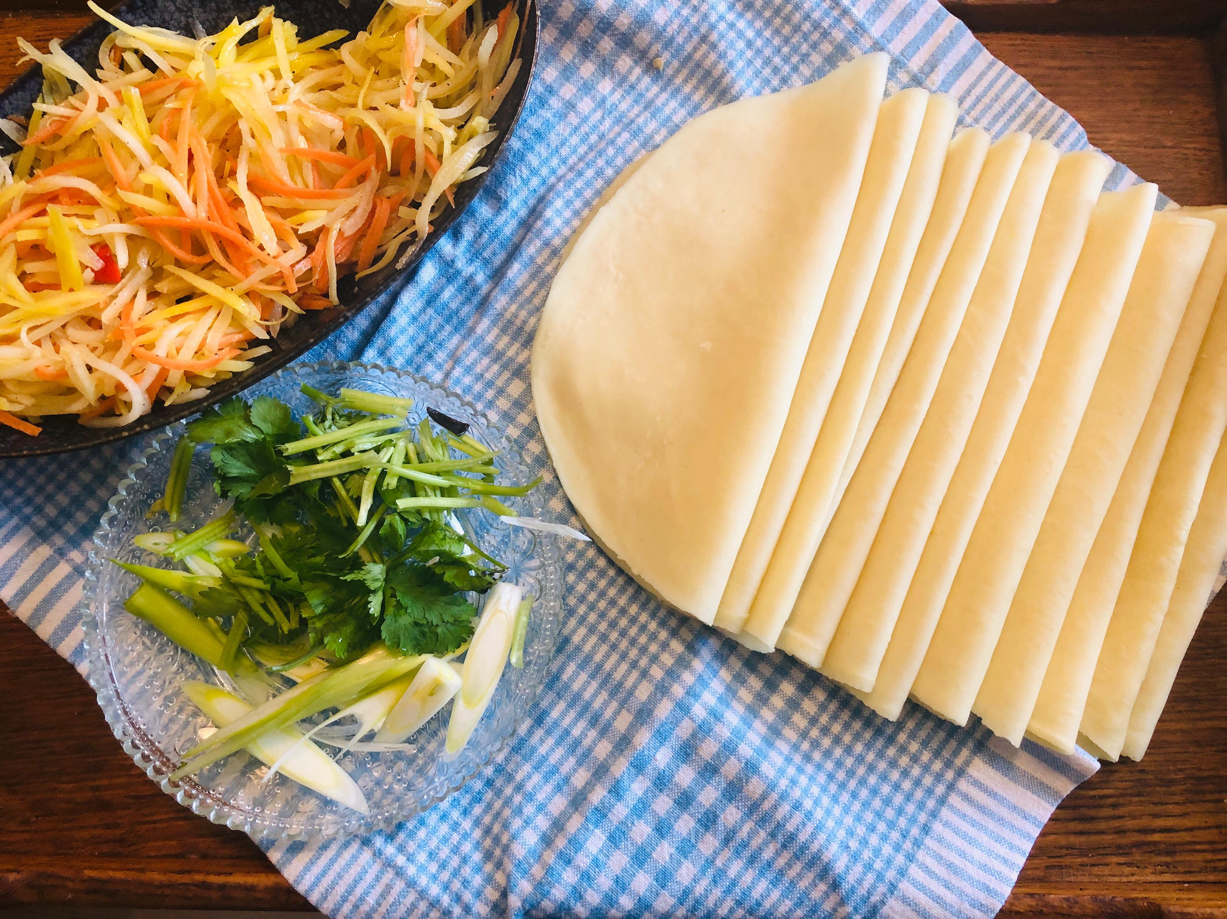 春饼(卷饼)