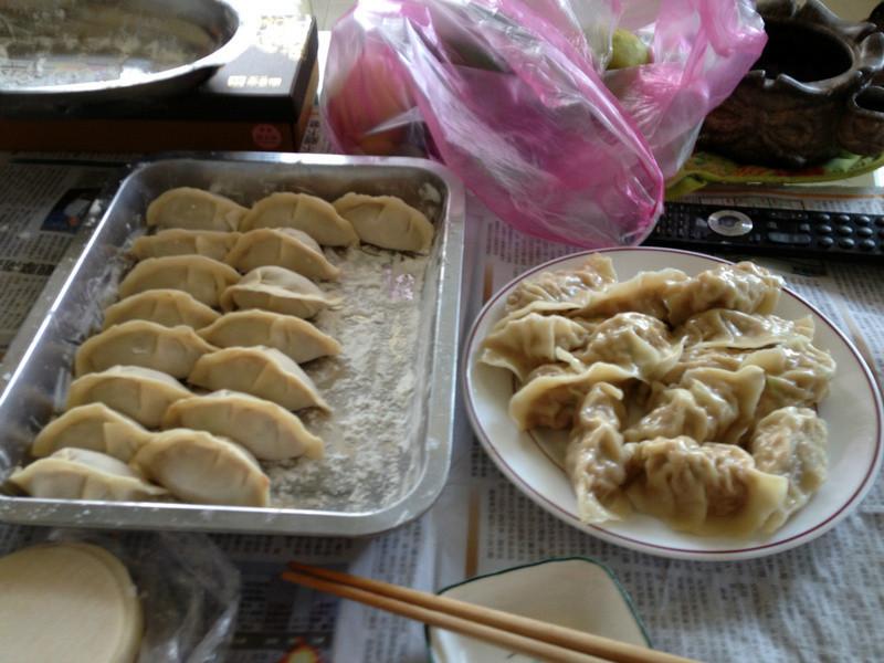 自製手工紹興高麗菜豬肉水餃