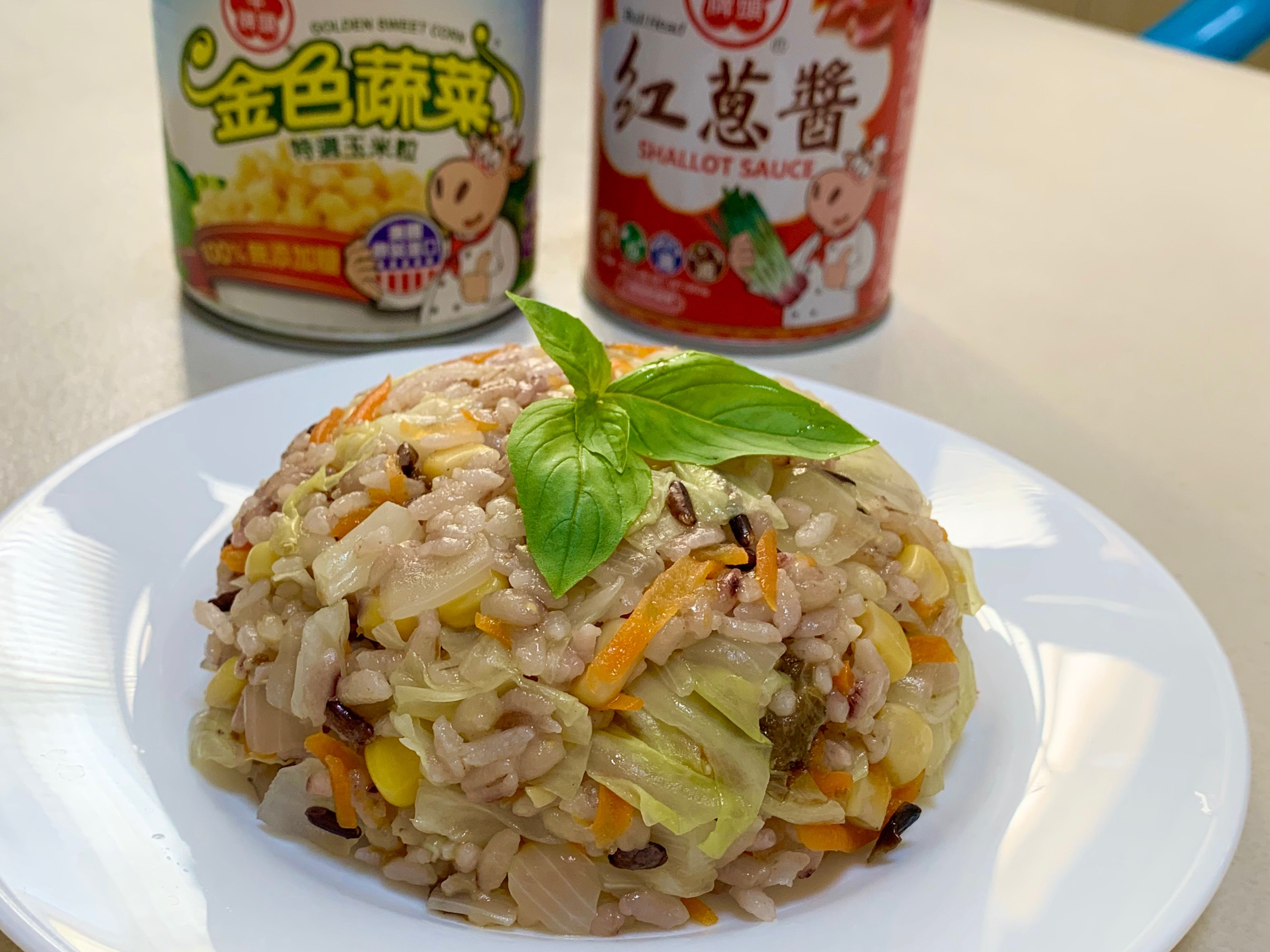 我的蔬食炊飯