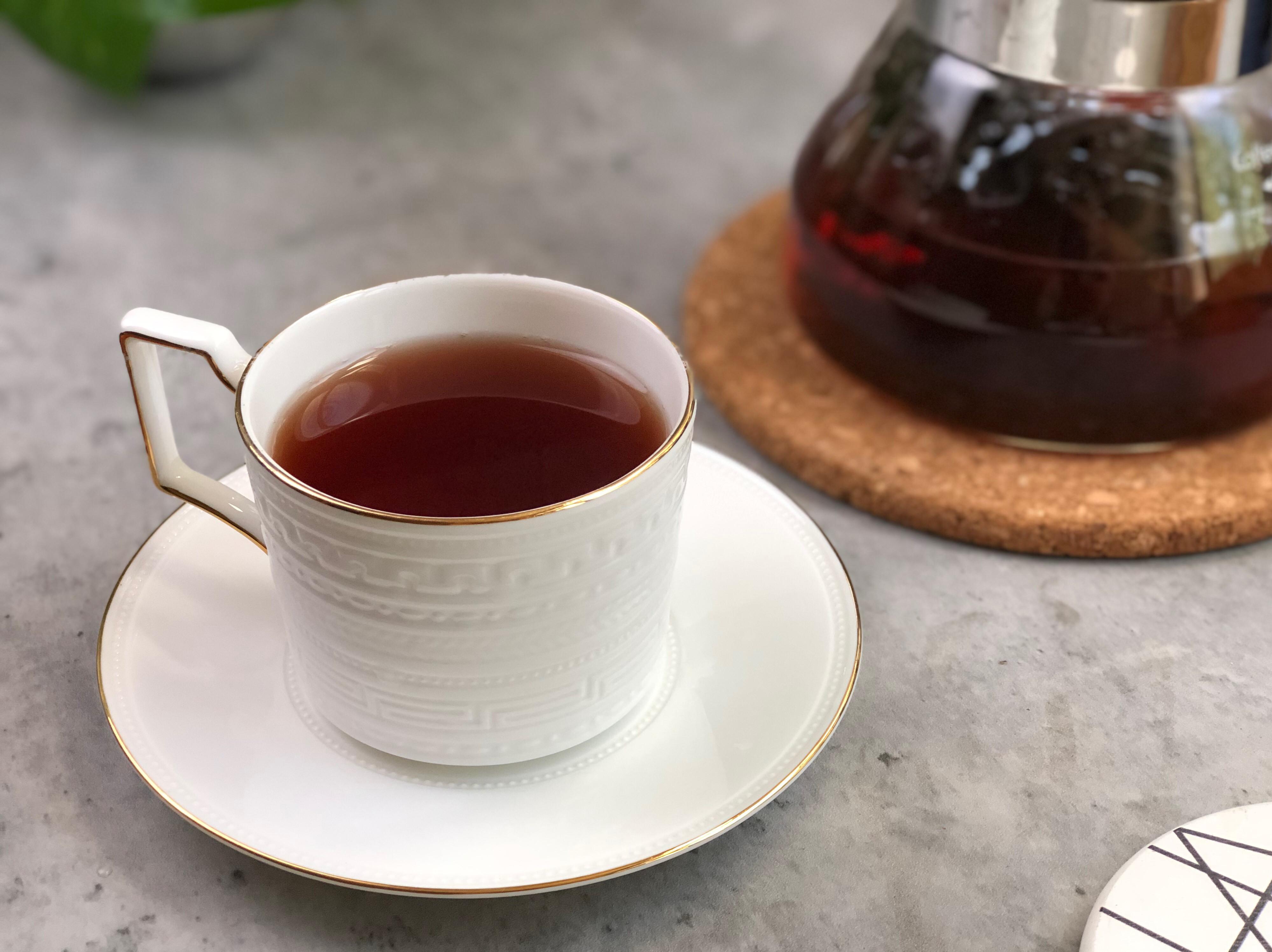 古早味蓮蓬茶-夏日冰飲