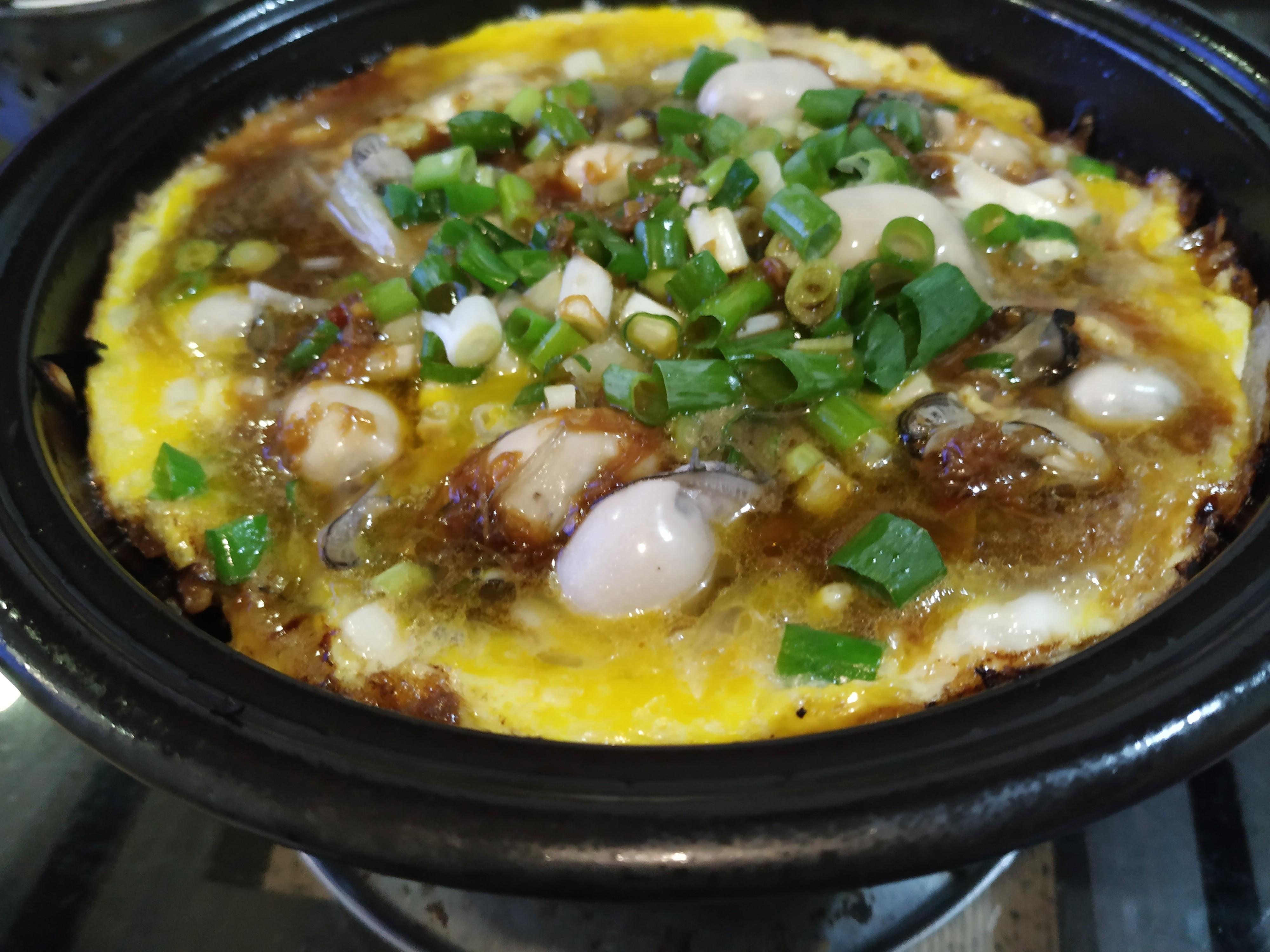 雞蛋蚵仔煎