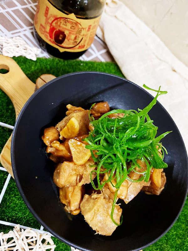 餐廳級芋頭燒雞