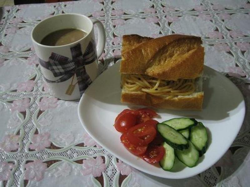 【十分輕鬆料理DIY】蕃茄肉醬麵麵包
