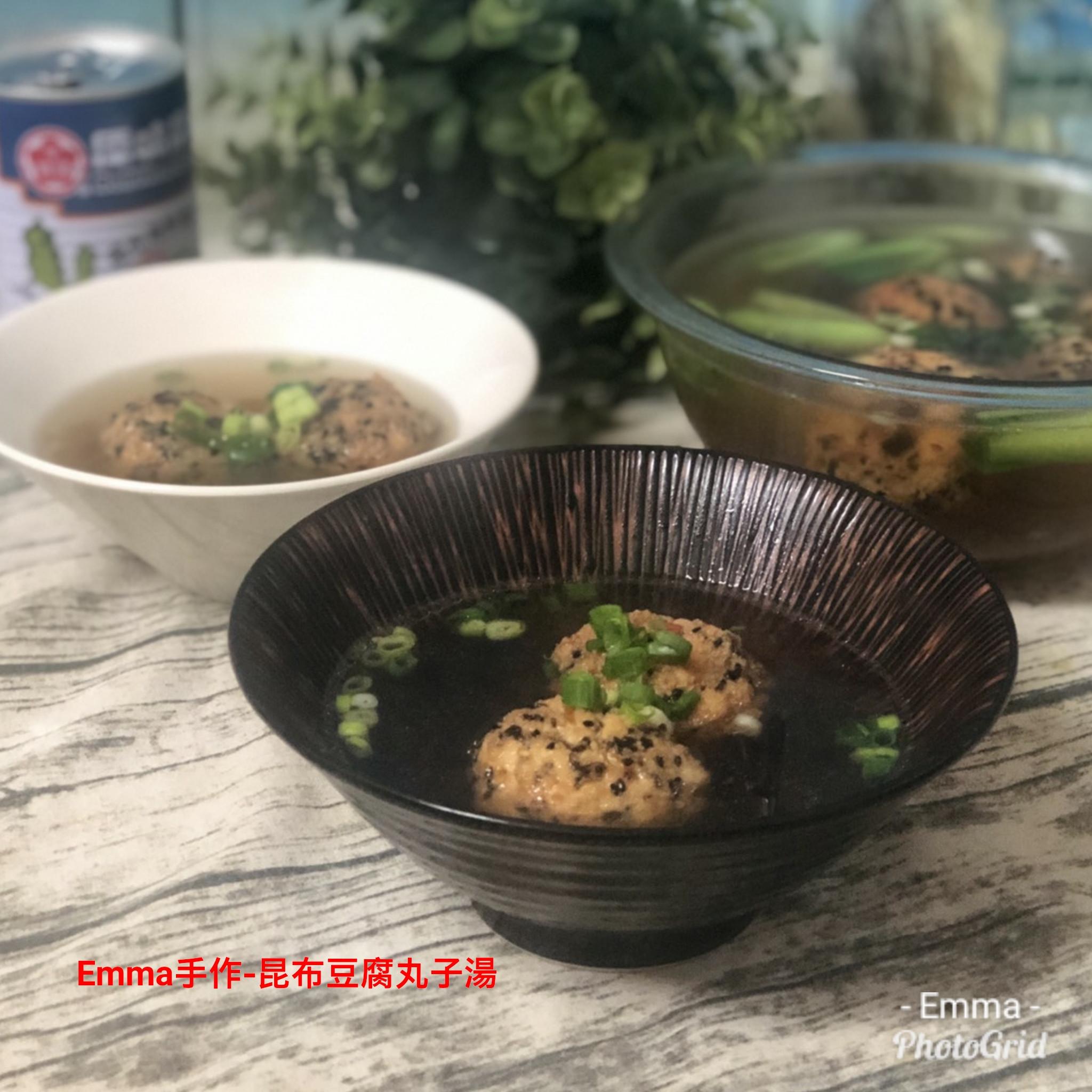 昆布豆腐丸子湯