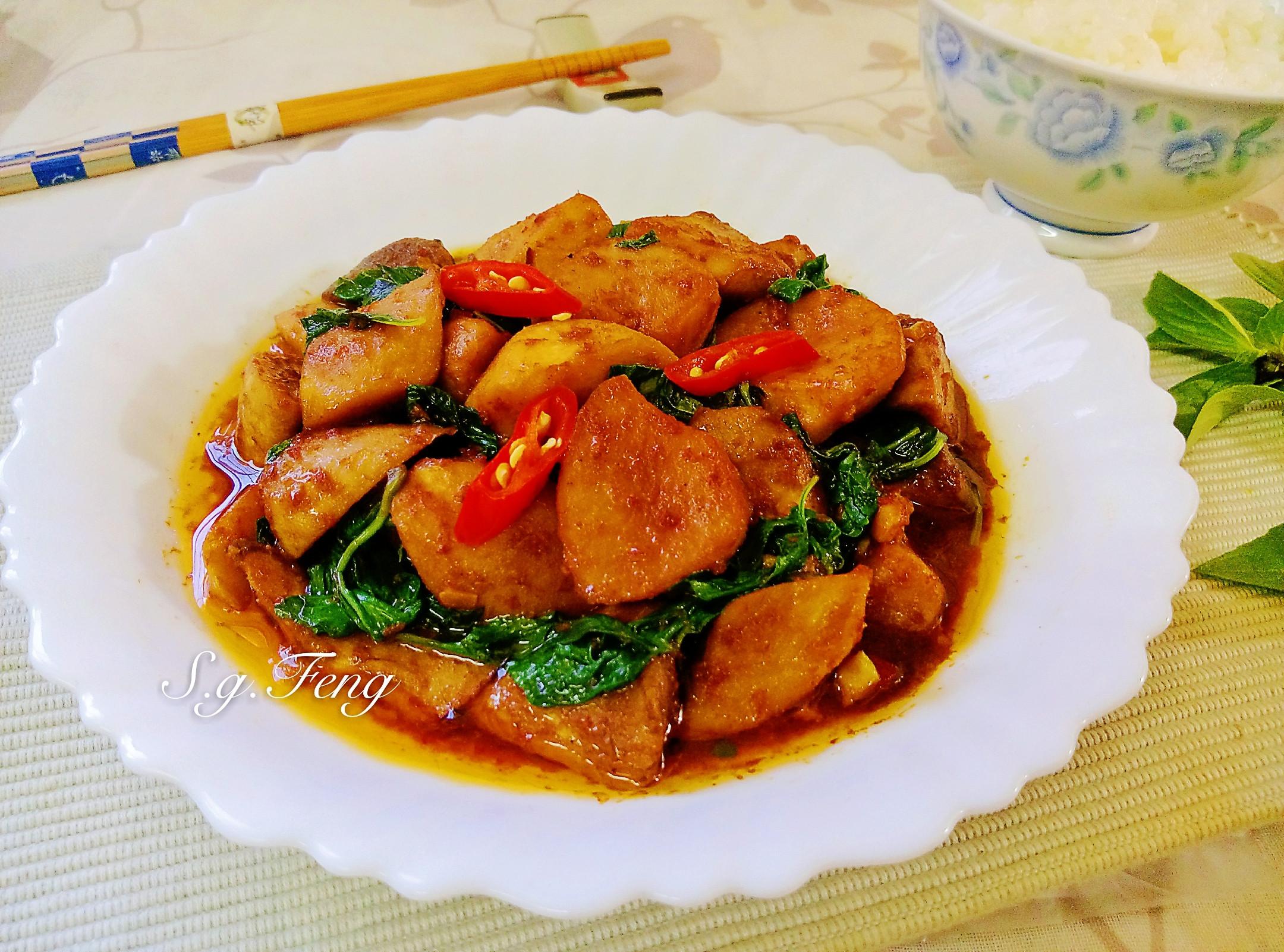 塔香沙茶杏鮑菇