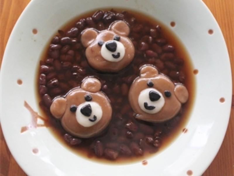 【肉桂打噴嚏】動物湯圓大集合‧熊熊