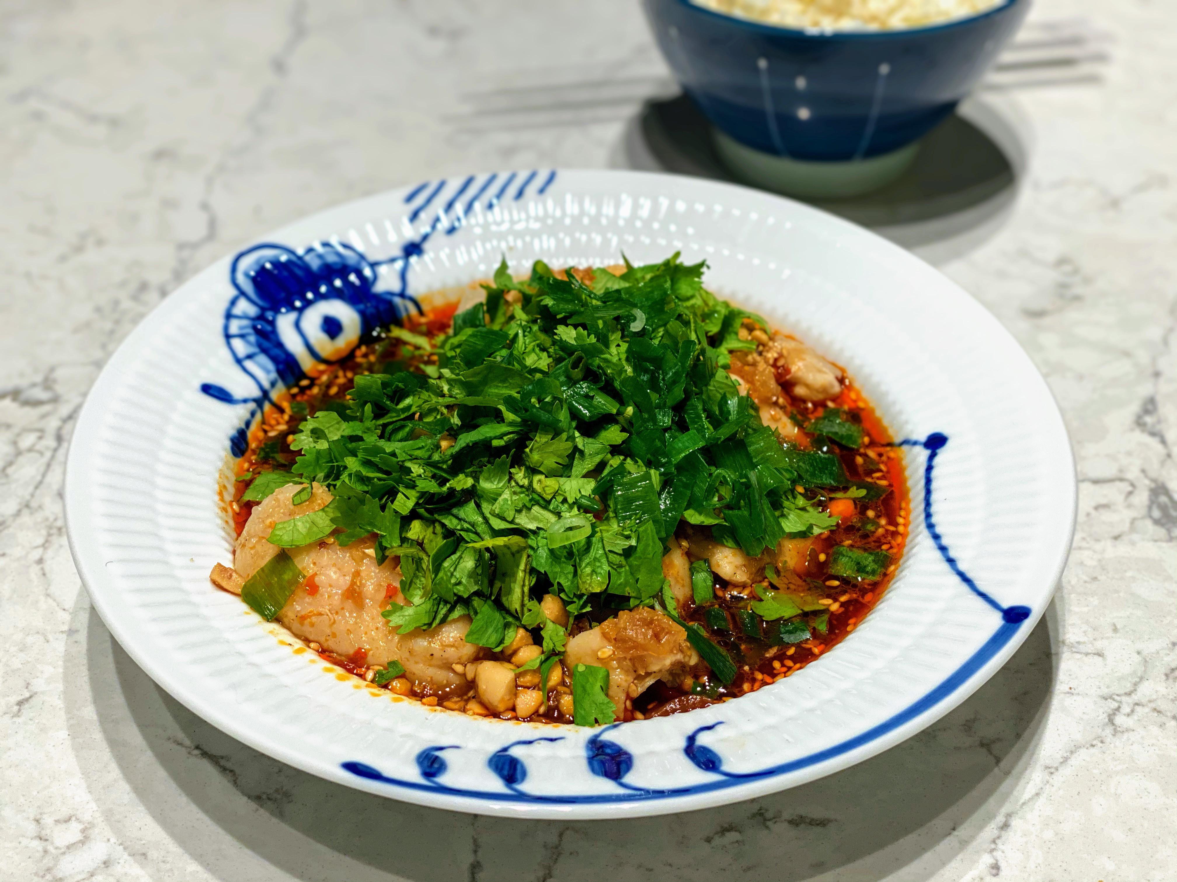 口水雞(內有兩種自製花椒油作法)