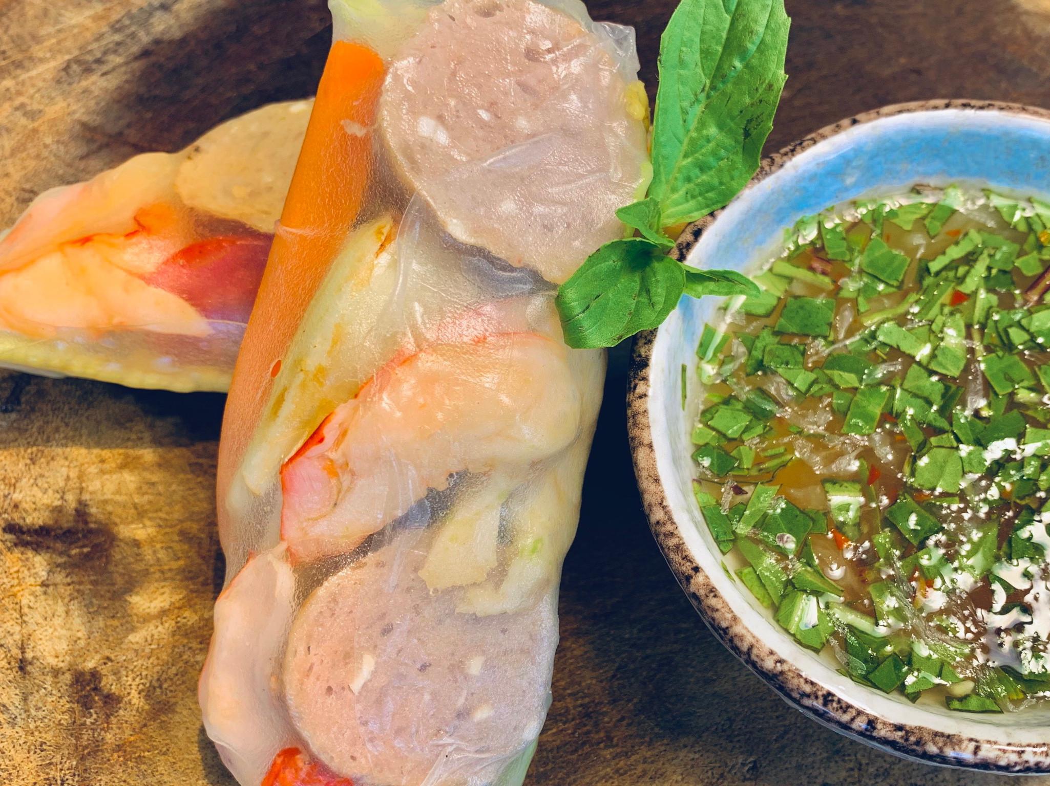 越南貢丸鮮蝦春捲
