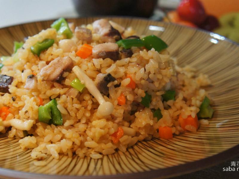 元氣 蔬菜滿滿 鯖魚炒飯