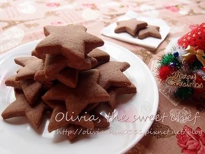 Olivia♥模型巧克力餅乾