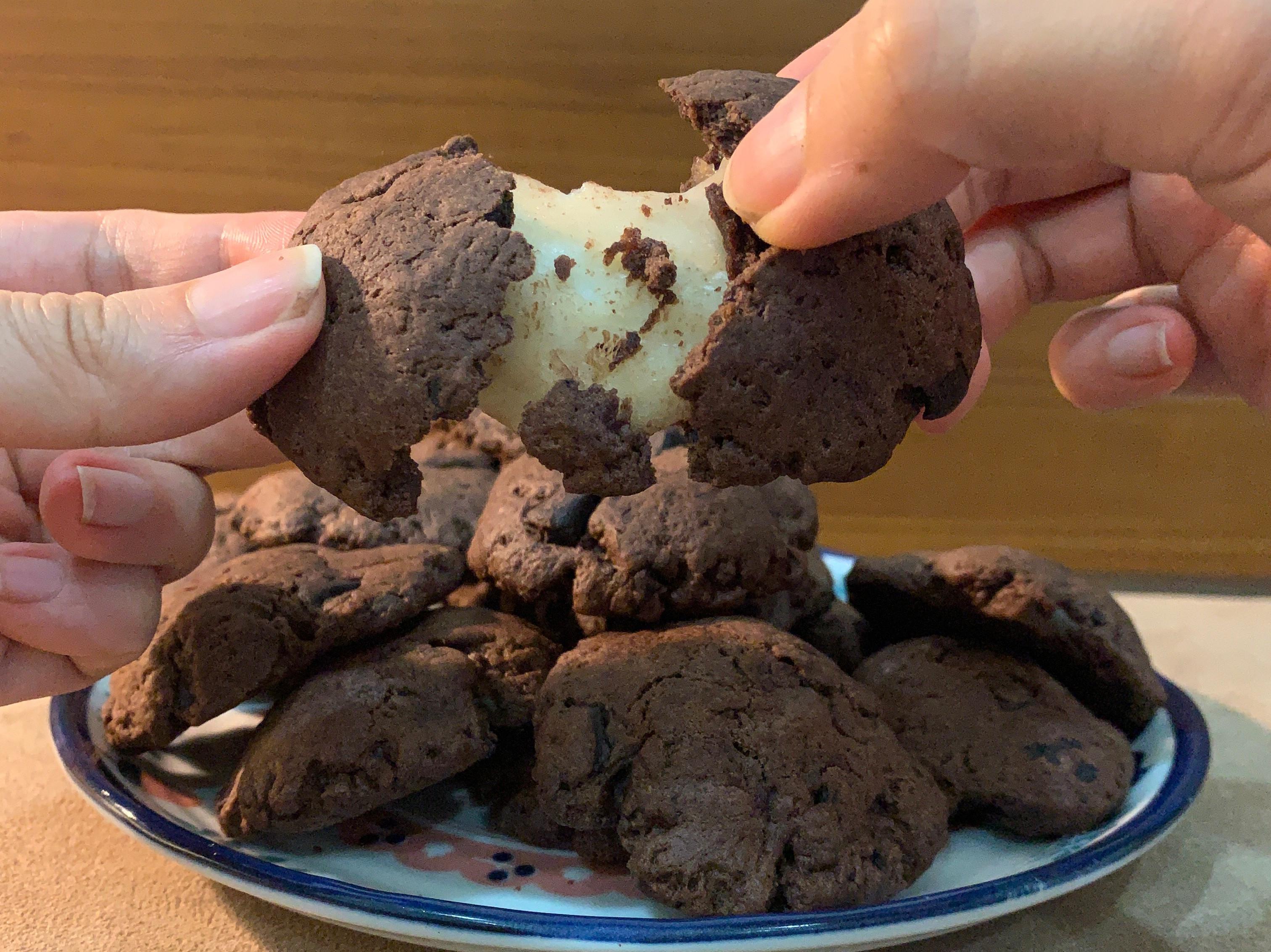 巧克力麻糬餅乾