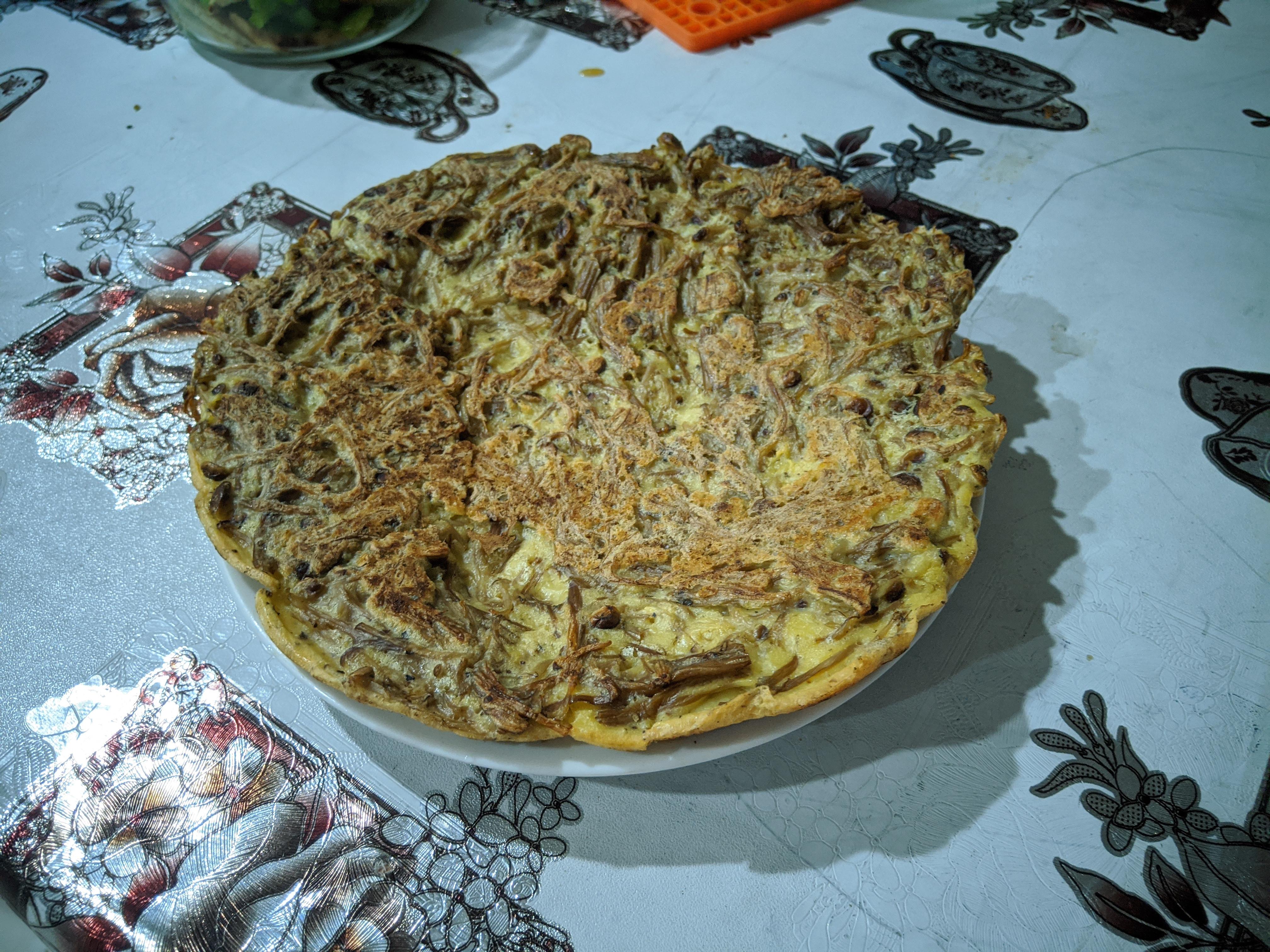 酥脆金針菇煎餅(蛋素)