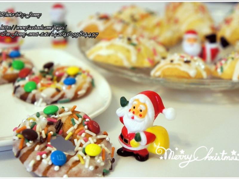 繽紛聖誕~馬德蓮餅乾&花圈餅乾
