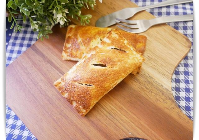 氣炸鍋「吐司蘋果派」簡單好吃的親子料理