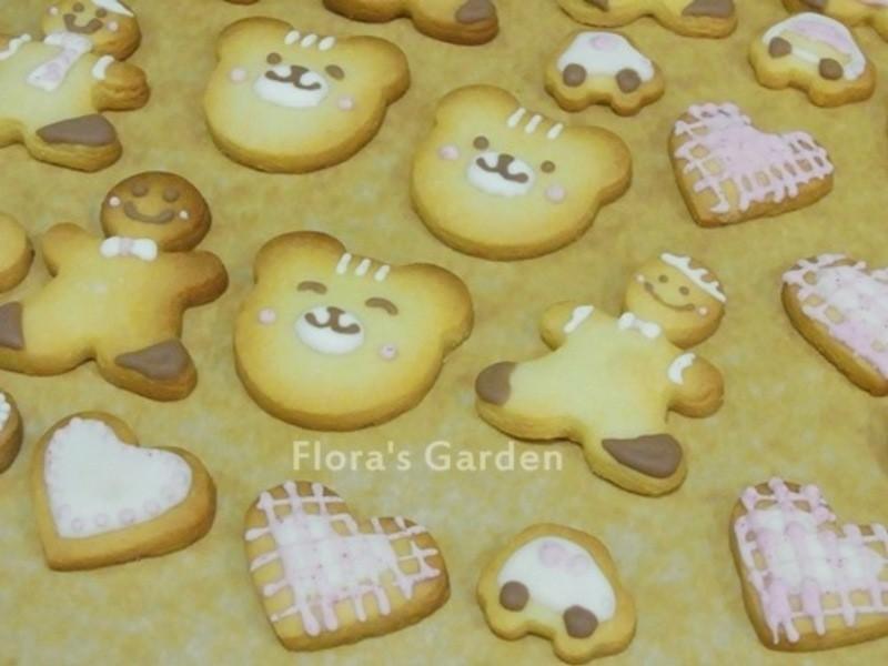 「金采耶誕」聖誕節的糖霜餅乾~~檸檬餅乾