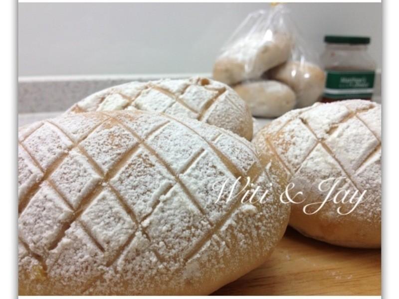[Witi✿Kitchen](麵包機-麵包)天然酵母核桃麵包