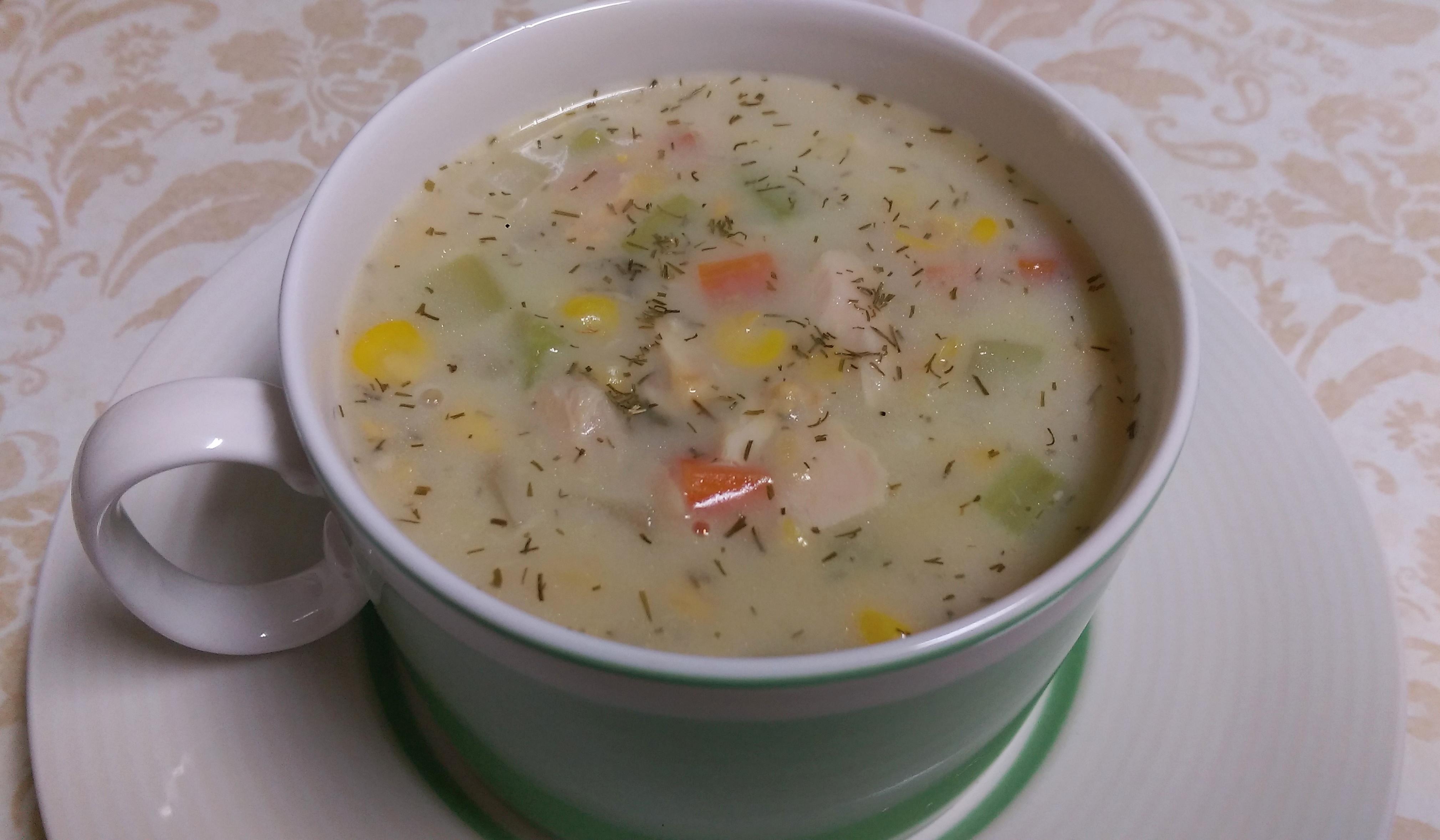 鮪魚巧達湯