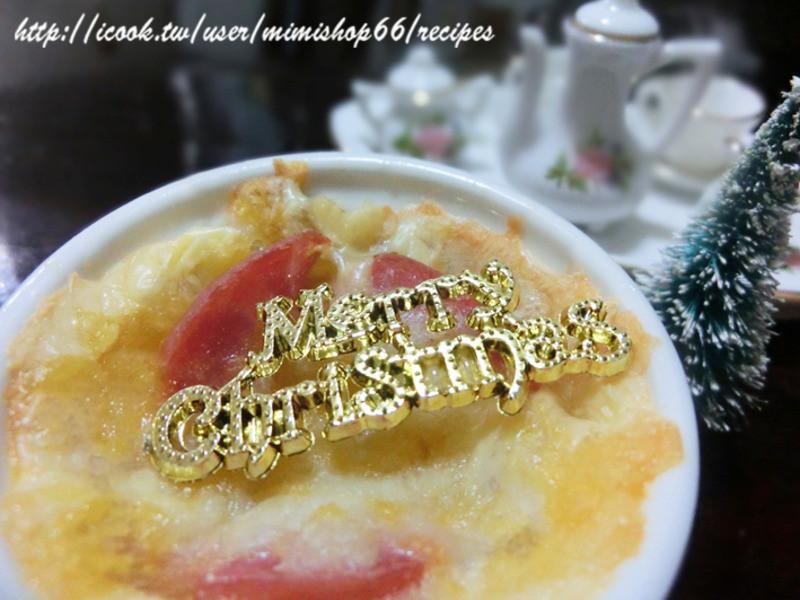 芝司樂-聖誕起士薯餅盅