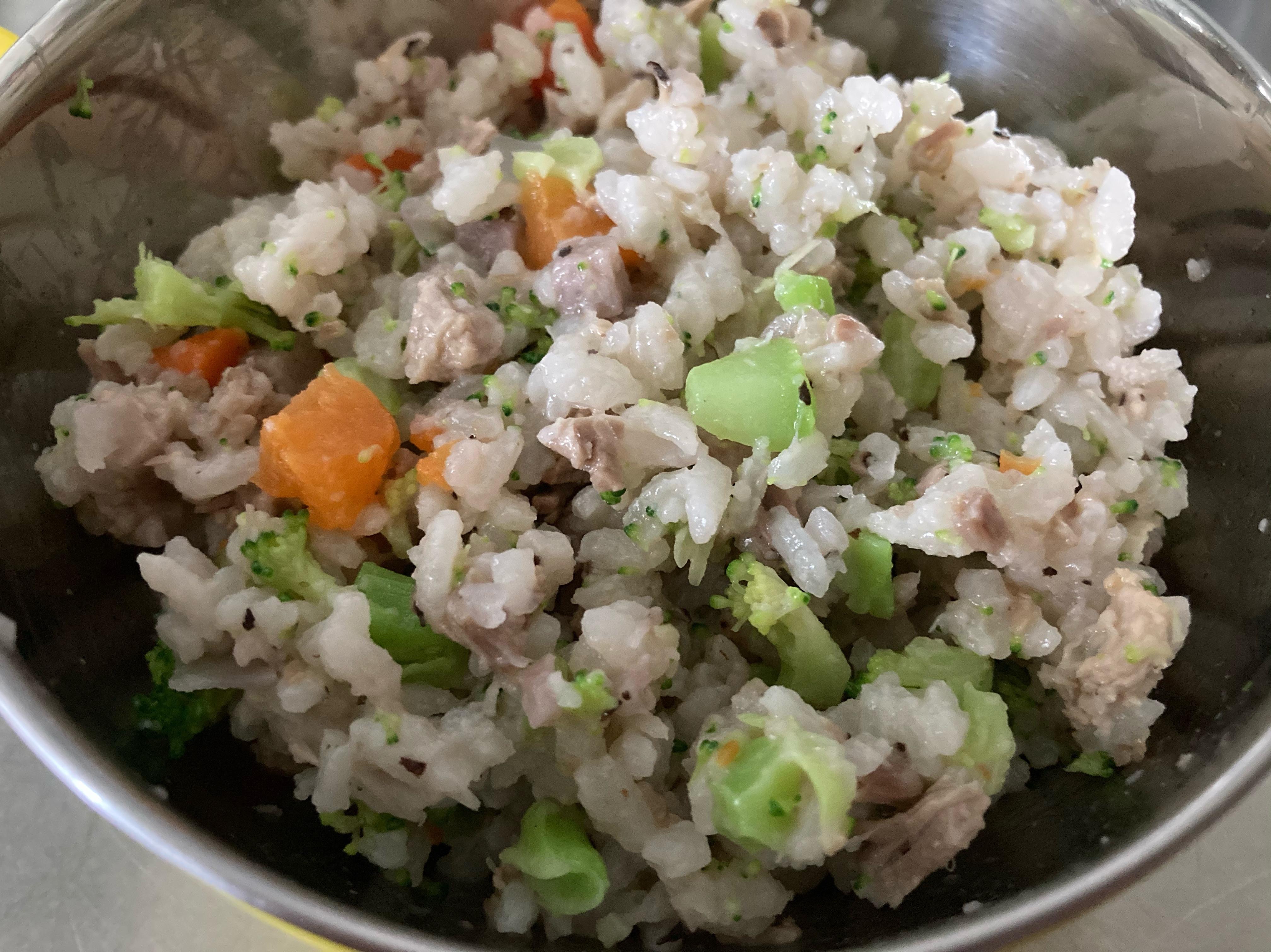 媽媽寶寶餐-芋頭豬肉炊飯