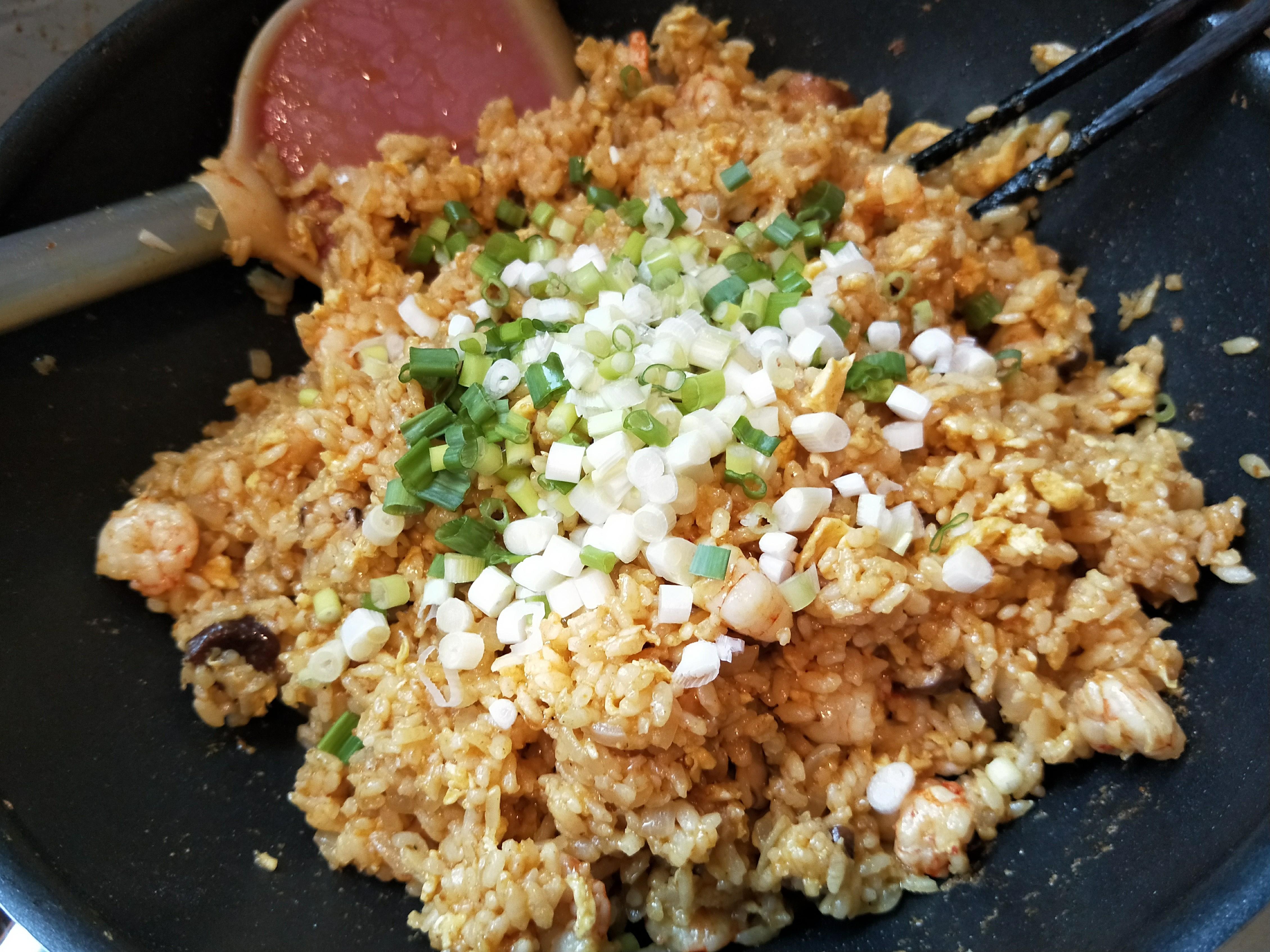 蝦仁炒飯-牛頭牌咖哩炒醬