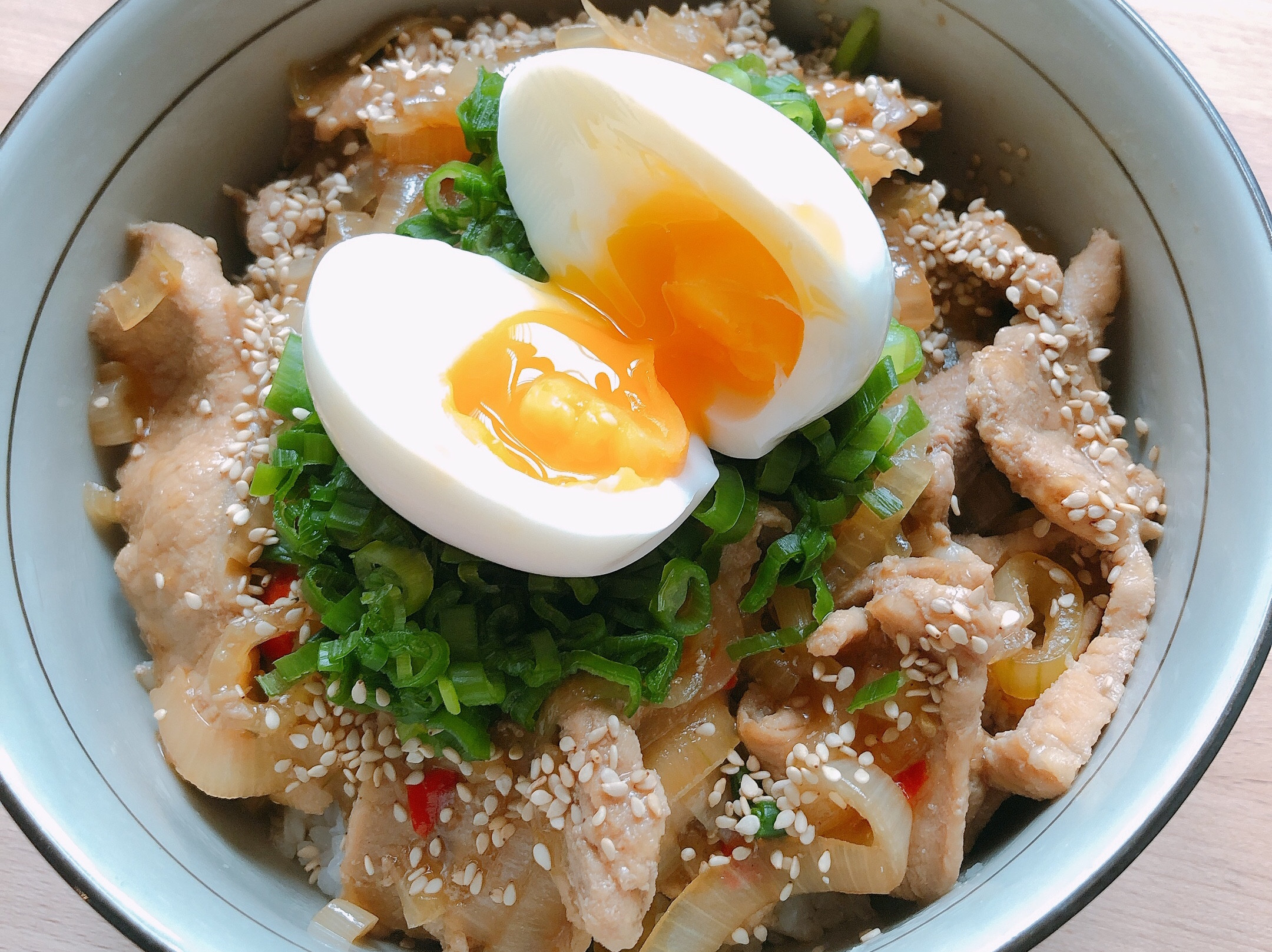 日式豬肉丼飯