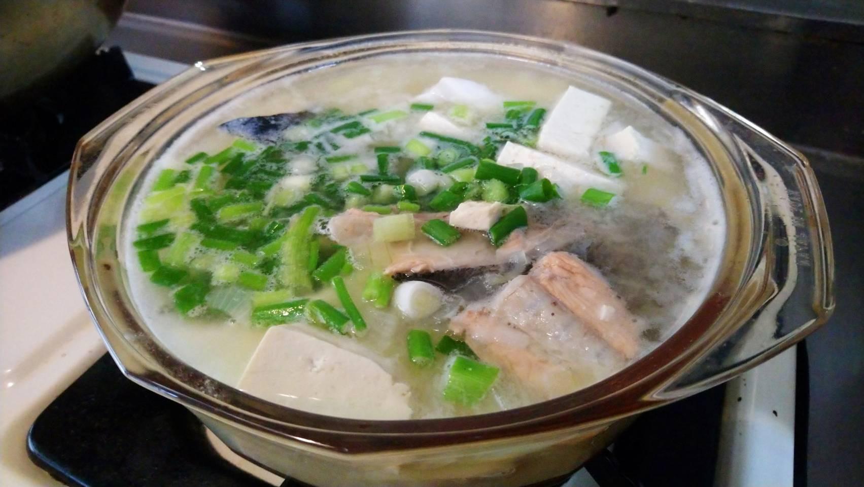 鮭魚豆腐味增湯(海)