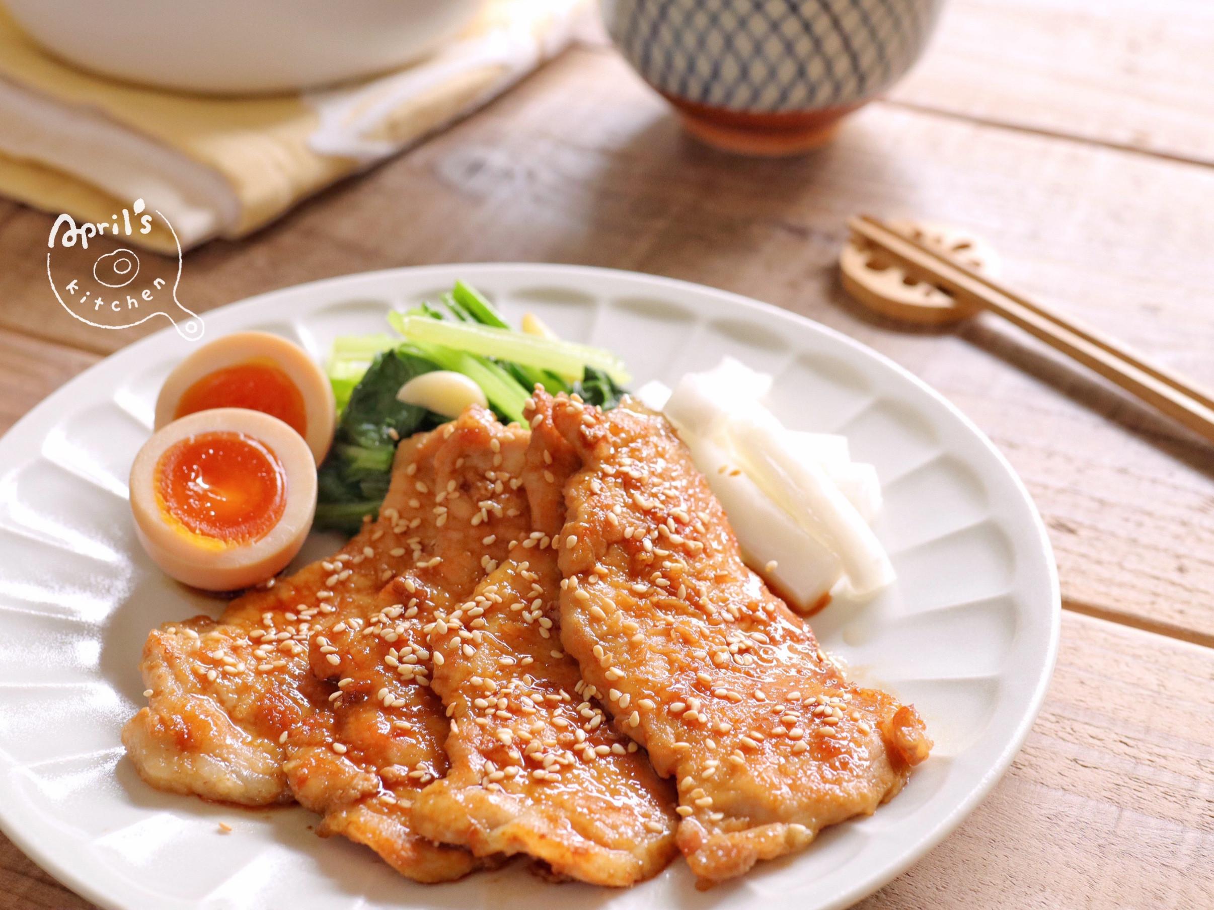 薑汁燒豬肉 𖤣 5分鐘快速料理 𖤣