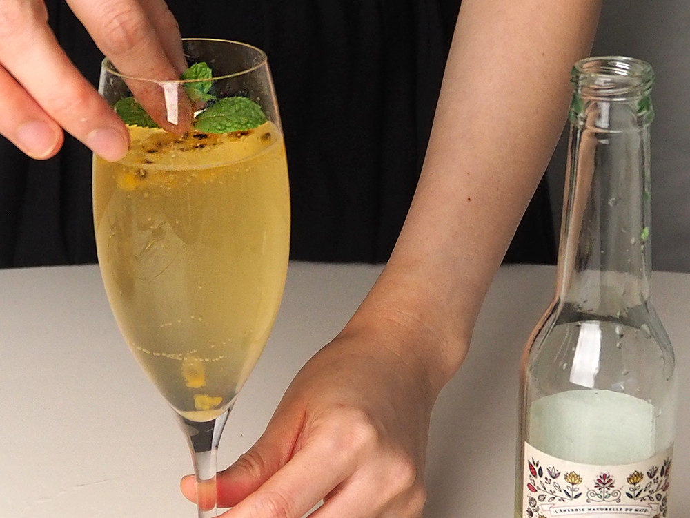 清涼簡易調酒‧氣泡水果雞尾酒