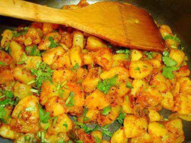 印度香料馬鈴薯咖哩