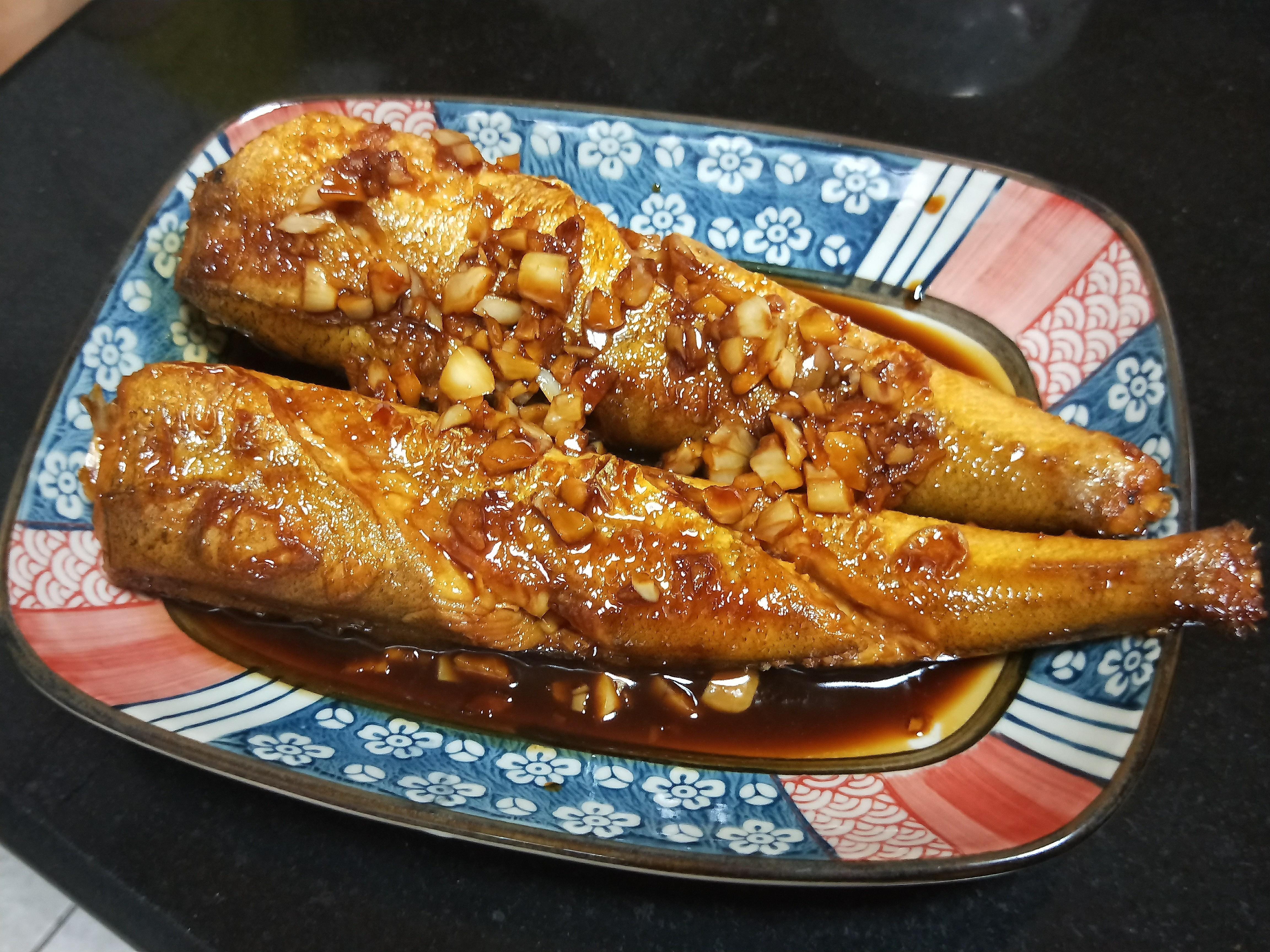 紅燒小圓鱈