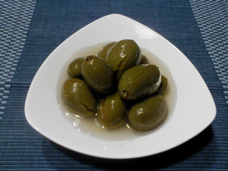 莎媽五心級料理~醃橄欖