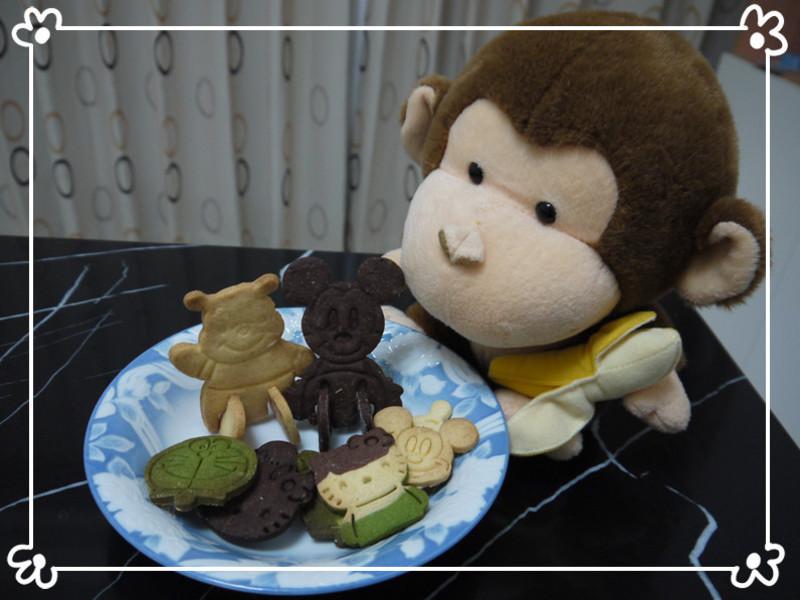 [小P猴] 團圓晚會上的人氣美食~卡通造型餅乾