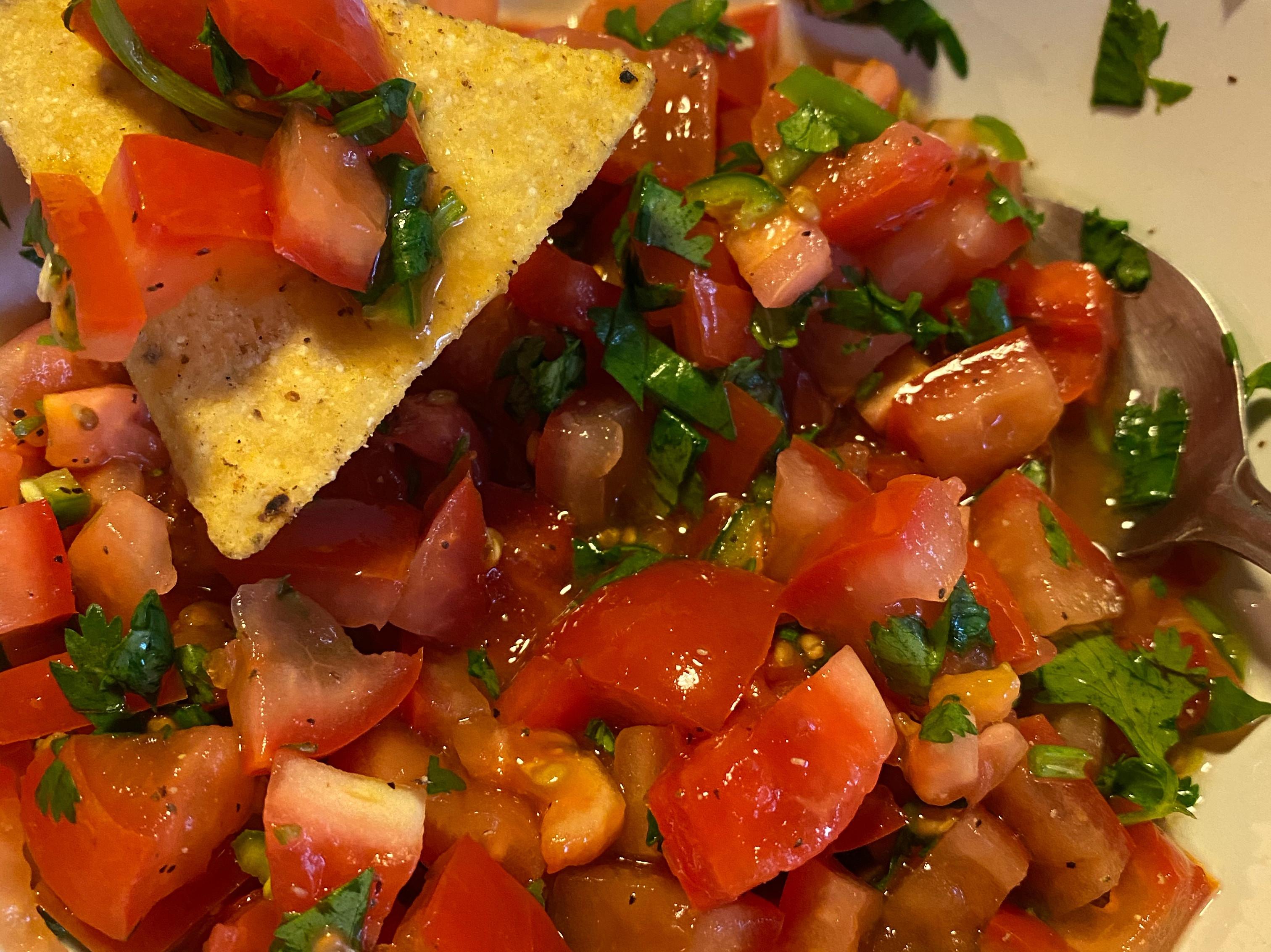 [蔬食] 墨西哥莎莎醬