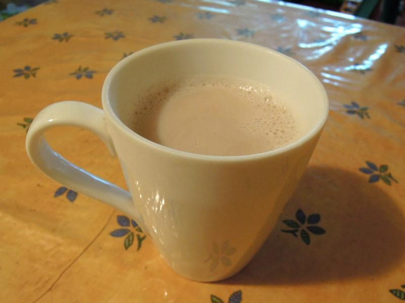 【自製熱飲】薑奶茶