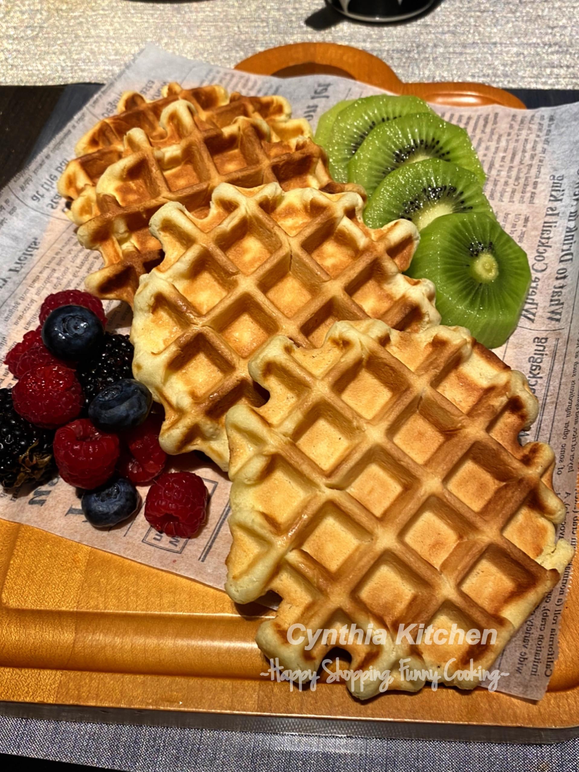 比利時蜂蜜鬆餅(窩夫機)