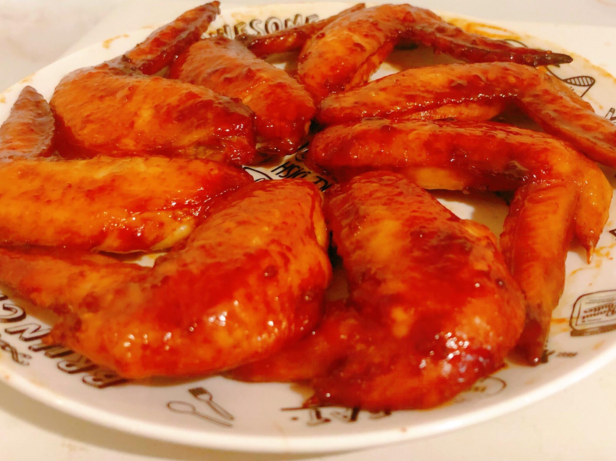 照燒醬烤雞翅
