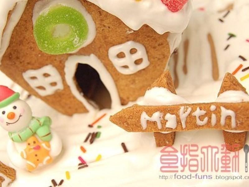 聖誕節超應景卡哇依「薑餅屋」在家自己做!