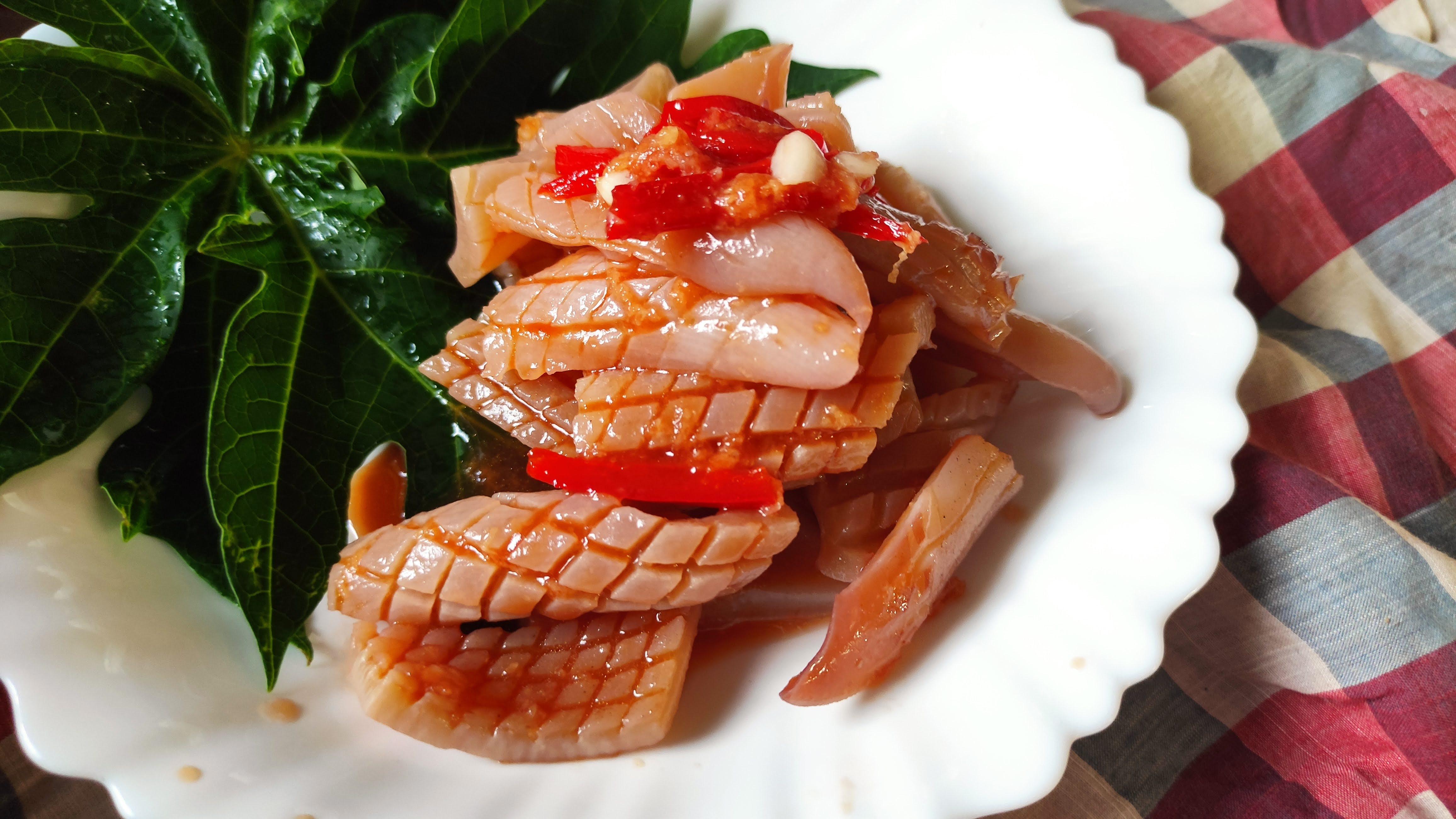 五分鐘上菜─涼拌五味鮮魷