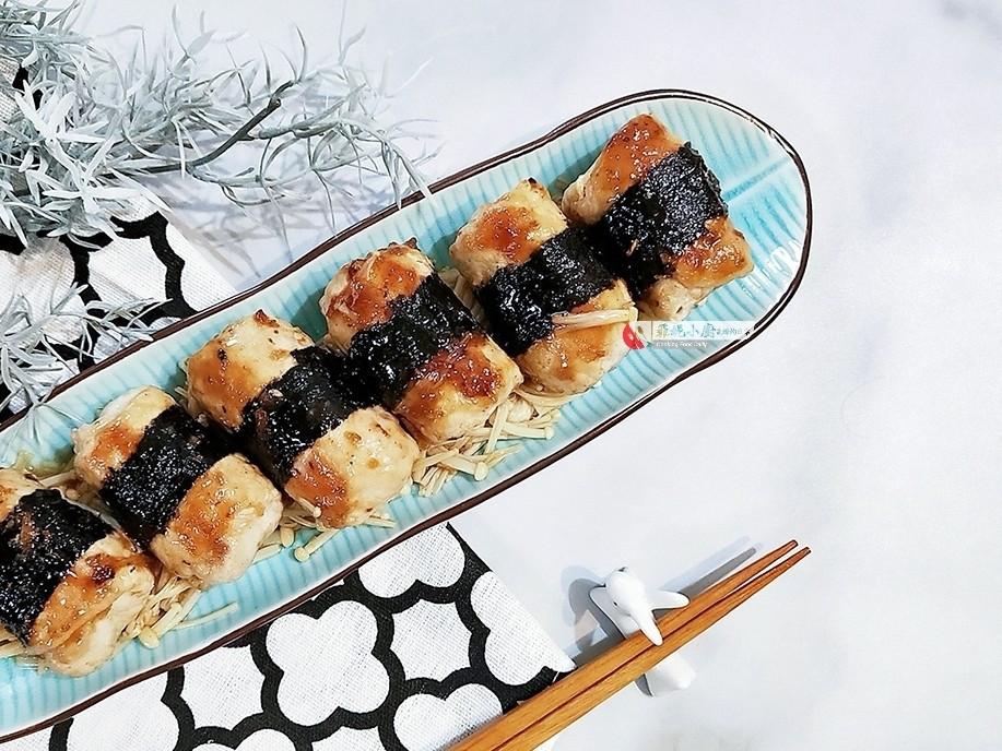 海苔肉片豆腐卷