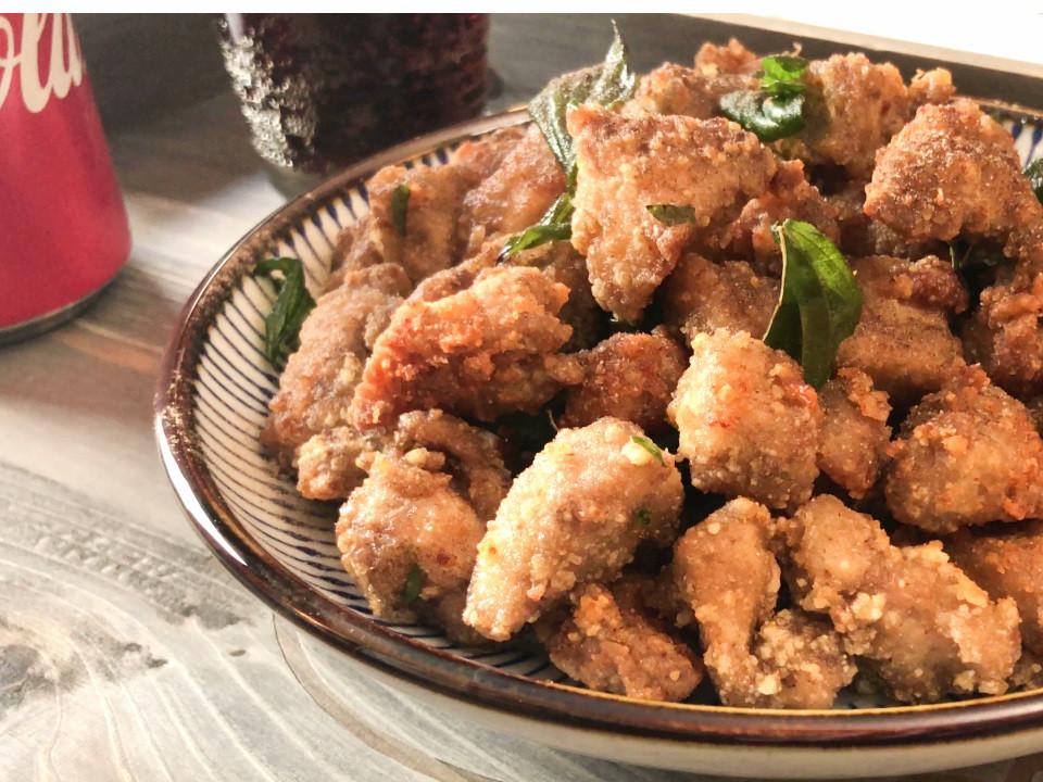 鹽酥雞│鹹酥雞 酥脆不回軟的祕方