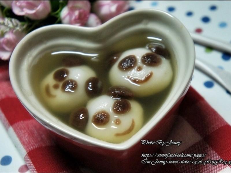 薑汁微笑貓熊湯圓