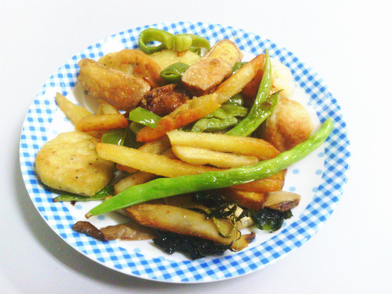 黃金玄米油 HOME 炸料理 ♥ 炸綜合 x 炸丸子