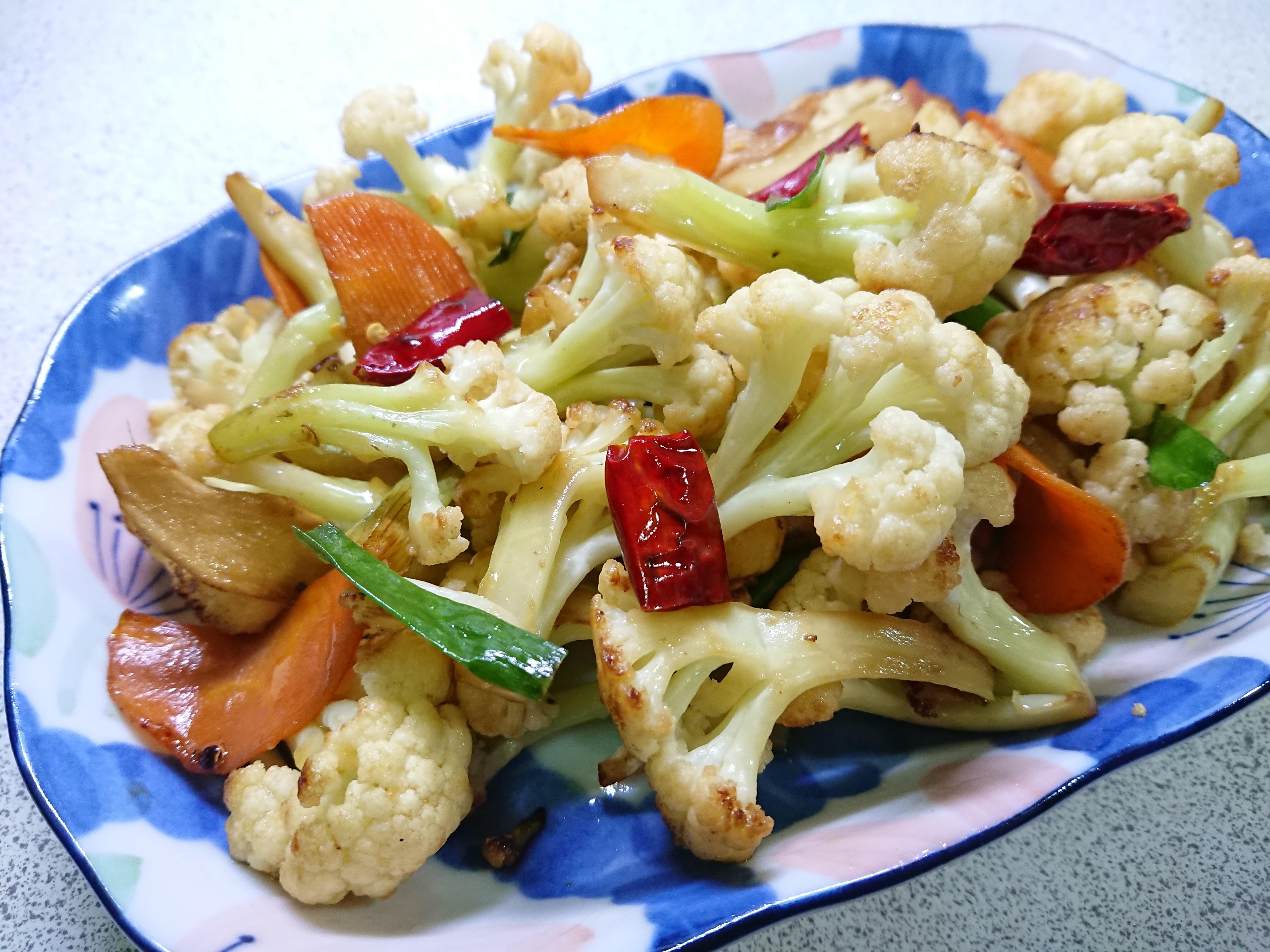 乾煸花椰菜