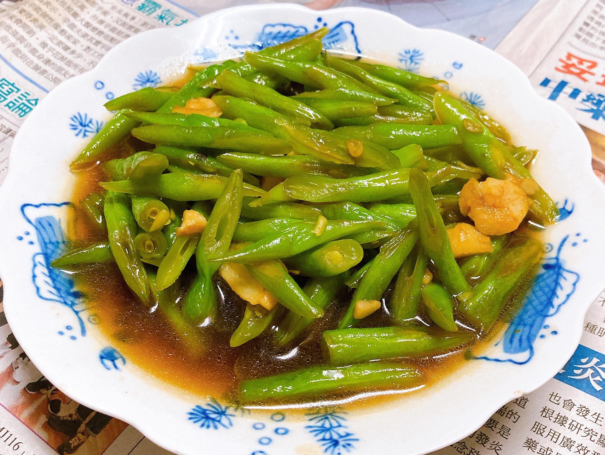 家常清炒四季豆