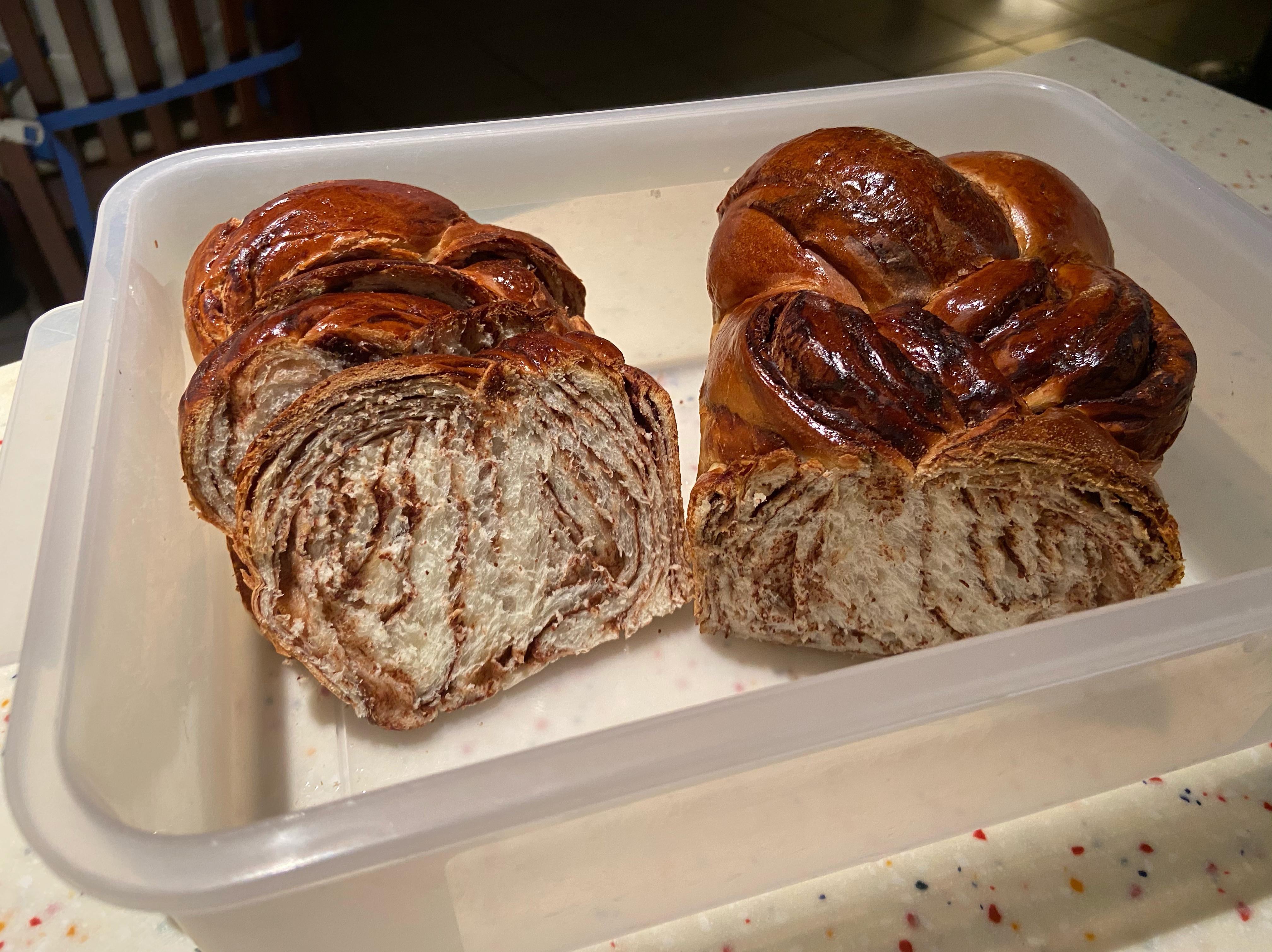 大理石吐司麵包