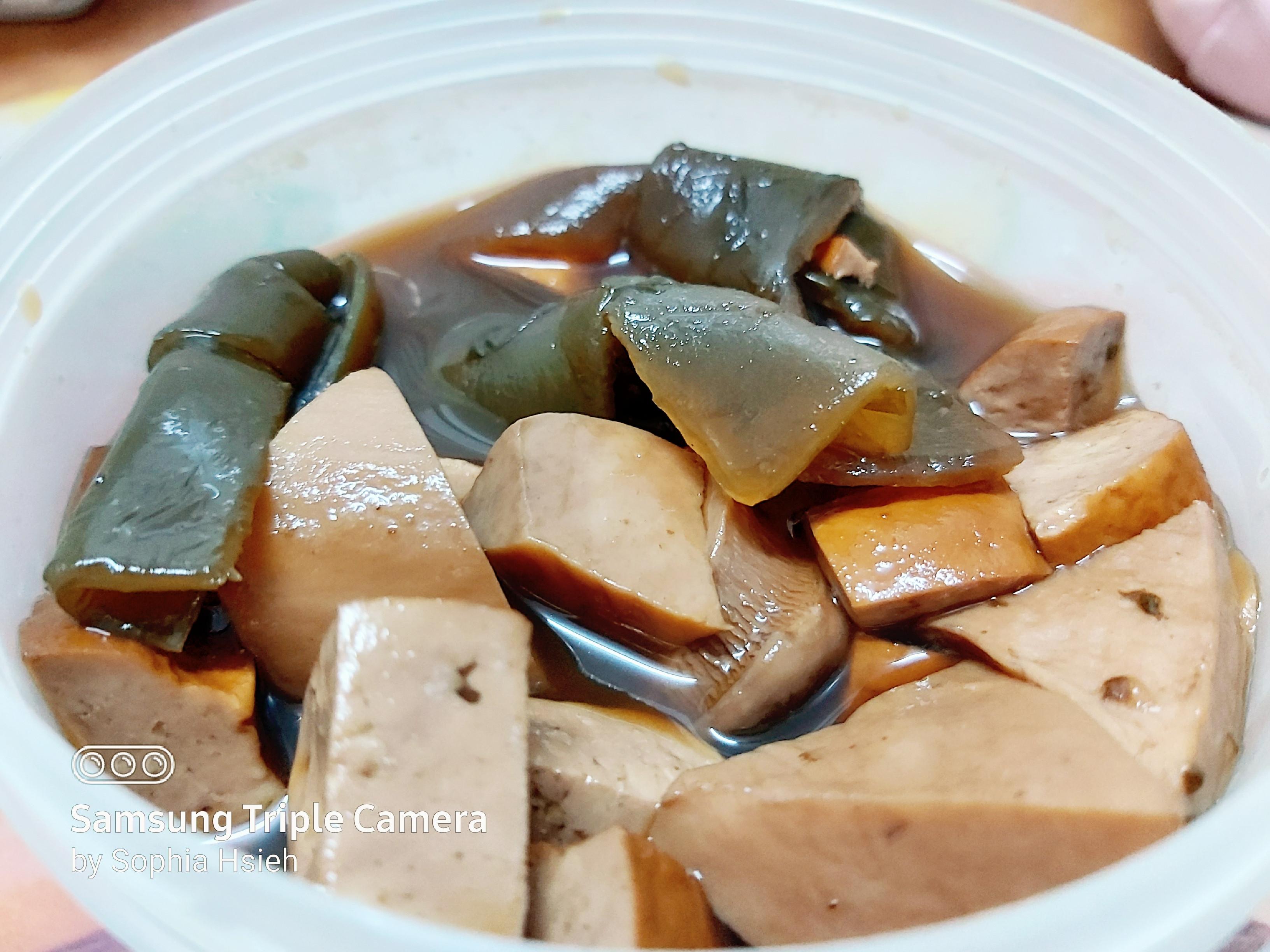魯豆干海帶杏菇