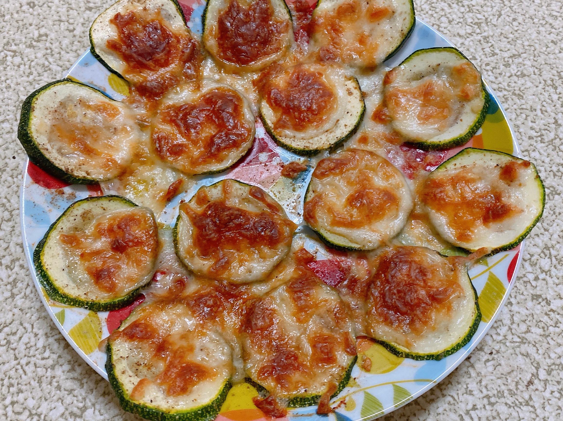 簡易焗烤櫛瓜