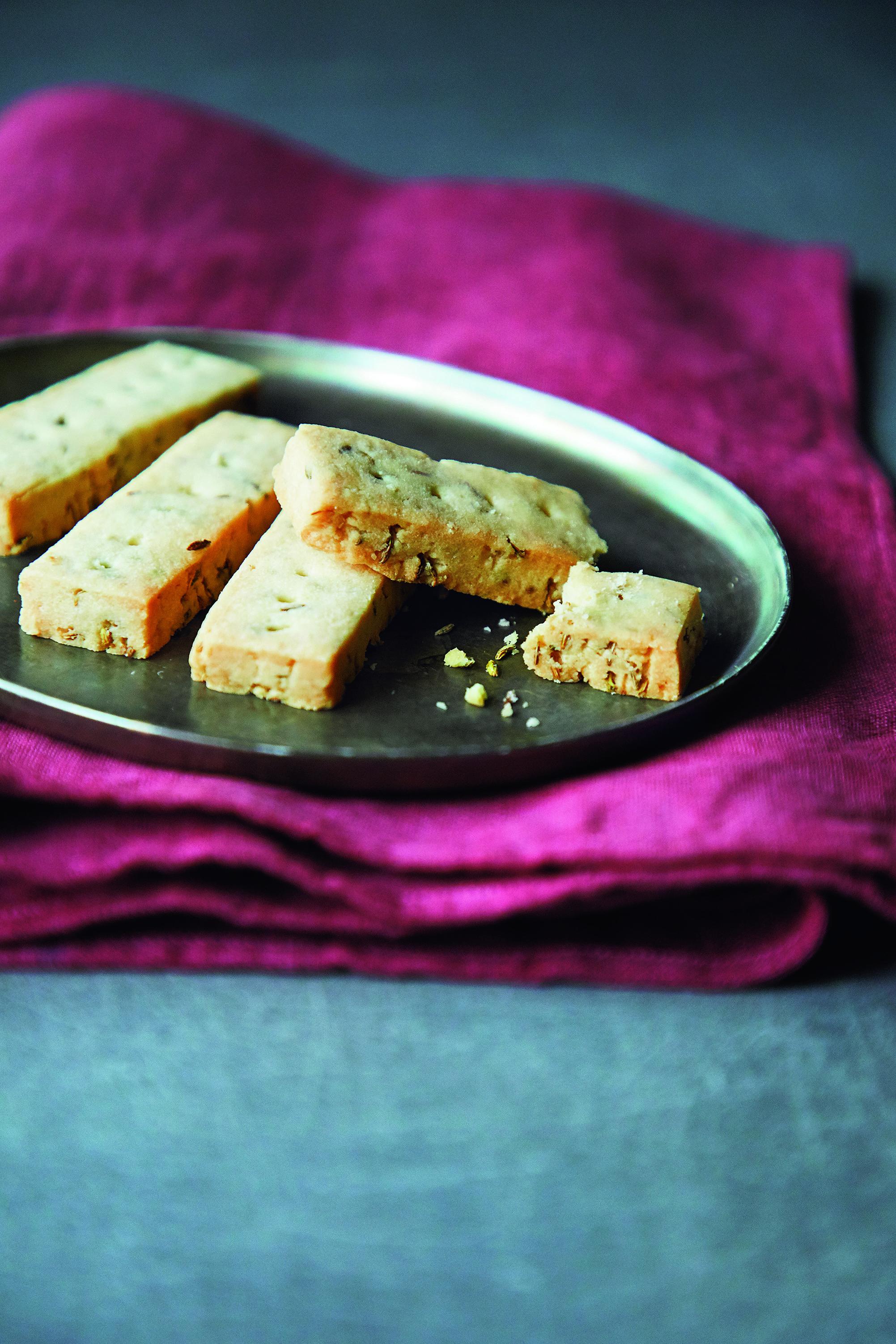 茴香奶油酥餅